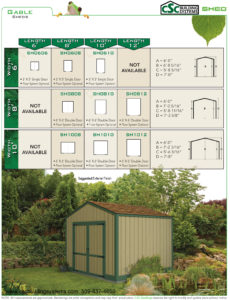 CSC SHED Gable Flyer