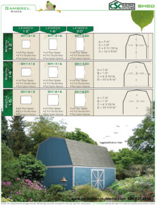 CSC SHED Gambrel Flyer