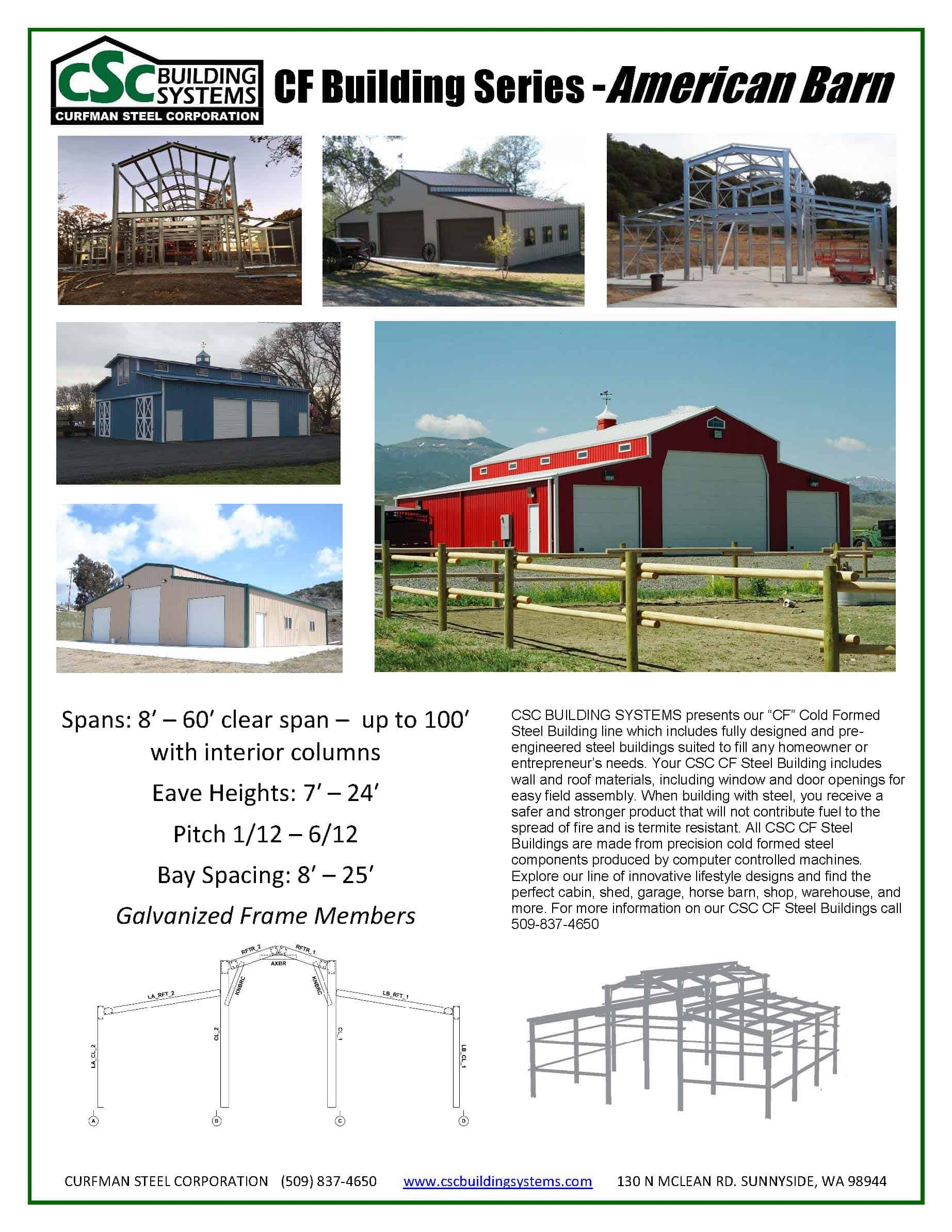 American barn American barn style kit homes