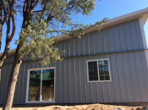 Single Slope Steel Home